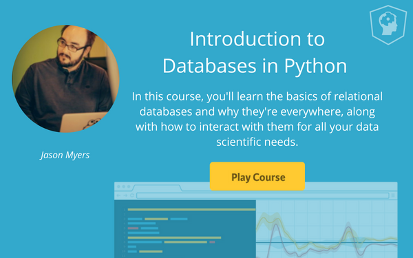 databases Python course
