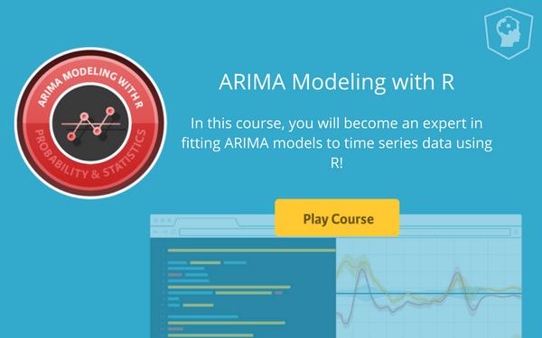 ARIMA modeling R