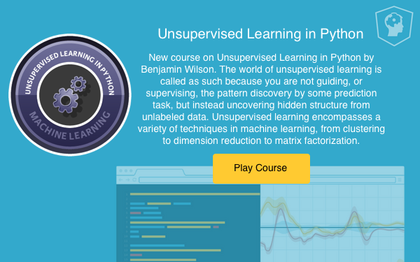 Unsupervised Learning in Python Course (article) - DataCamp