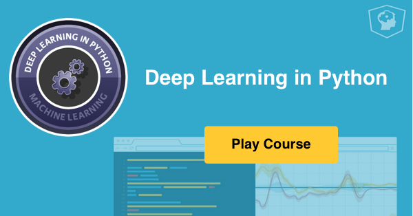 Deep Learning in Python (first Keras 2 0 online course!) (article