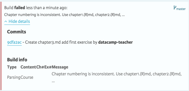 Building Your Own DataCamp Course with GitHub (article
